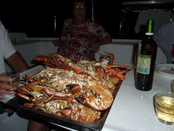 Tobago Keys, Lobster von Carlos